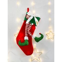 Calza gambe elfo...