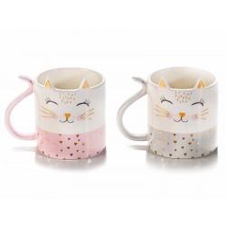 Tazze a gatto in ceramica...