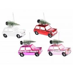 Auto c/albero Natale su...