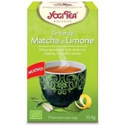 Tè verde matcha al limone...