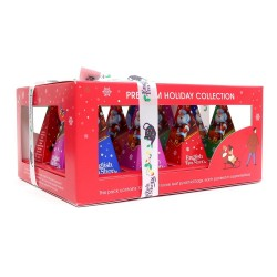 Holiday red prism -...