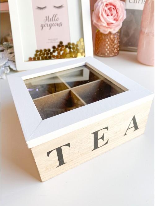 Scatola del tè con 4...