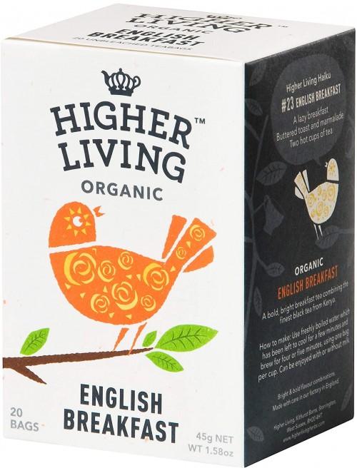 English breakfast Higher...