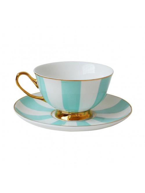Stripy tazza da tè con...