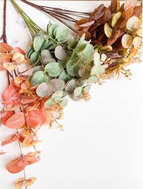 Mazzetto eucalipto - 3 colori