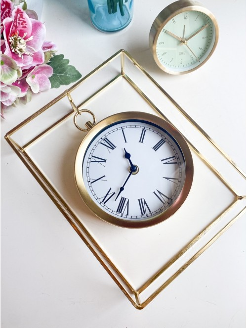 Orologio da tavolo metallo...