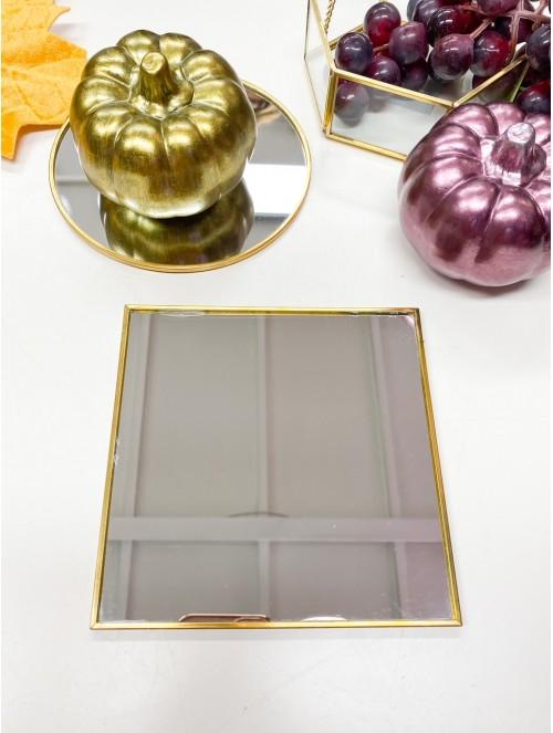 Piatto specchio oro 25cm