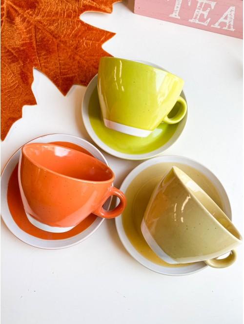 Tazze da thè 3 colori